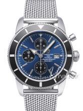 Breitling Superocean Heritage Chronograph Blue Dial Bracelet