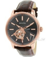 Bulova Mechanical Sort/Lær
