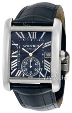 Cartier Tank MC Blå/Lær