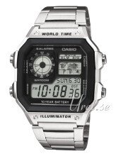 Casio Casio Collection LCD/Stål 42x42 mm