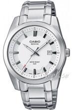 Casio Hvit/Stål Ø37.3 mm