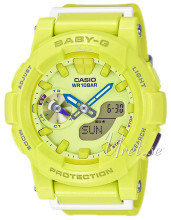 Casio Baby-G Gul/Resinplast Ø44 mm