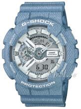 Casio G-Shock Sølvfarget/Resinplast Ø51 mm