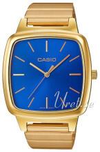 Casio Casio Collection Blå/Gulltonet stål