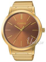 Casio Casio Collection Brun/Gulltonet stål