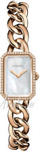 Chanel Premiere Hvit/18 karat rosé gull