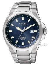Citizen Titanium Blå/Titan Ø43 mm