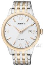Citizen Eco Drive 180 Hvit/Gulltonet stål