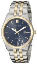 Citizen Dress Blå/Gulltonet stål
