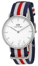 Daniel Wellington Classic Canterbury Antikkhvit/Tekstil Ø36 mm