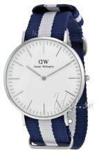 Daniel Wellington Classic Glasgow Antikkhvit/Tekstil Ø40 mm