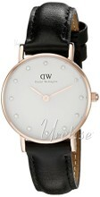 Daniel Wellington Classy Sheffield Rose Ø26 mm Antikk hvit/Lær