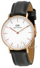 Daniel Wellington Classic Sheffield Antikkhvit/Lær Ø36 mm