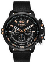 Diesel Chronograph Sort/Lær