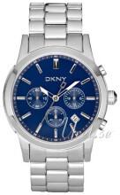 DKNY Chronograph Blå/Stål