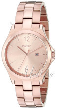 DKNY Dress Rosegullfarget/Rose-gulltonet stål Ø34 mm