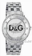 Dolce & Gabbana D&G Prime Time Sølvfarget/Stål Ø46 mm