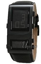 Dolce & Gabbana D&G Highlander LCD Dial Leather