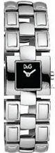 Dolce & Gabbana D&G Sølvfarget/Stål 26x26 mm