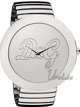 Dolce & Gabbana D&G Rockabilly Silver Dial Bracelet
