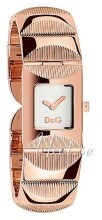 Dolce & Gabbana D&G Sølvfarget/Rose-gulltonet stål 22x22 mm