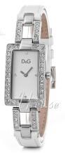 Dolce & Gabbana D&G Sølvfarget/Lær 31x20 mm