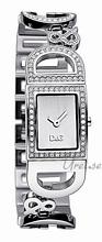 Dolce & Gabbana D&G Ireland Sølvfarget/Stål 25x20 mm