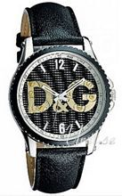 Dolce & Gabbana D&G Sestriere Sort/Lær Ø44 mm