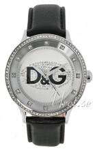 Dolce & Gabbana D&G Prime Time Sølvfarget/Lær