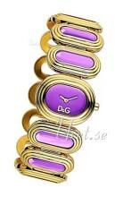 Dolce & Gabbana D&G Lilla/Rose-gulltonet stål Ø35 mm