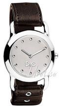 Dolce & Gabbana D&G Jambalaya Sølvfarget/Lær