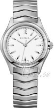 Ebel Wave Hvit/Stål Ø30 mm