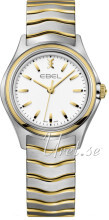 Ebel Wave Hvit/Gulltonet stål