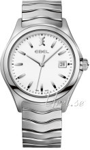 Ebel Wave Hvit/Stål Ø40 mm