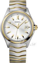 Ebel Wave Sølvfarget/Gulltonet stål