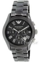Emporio Armani Ceramic Black Dial Bracelet