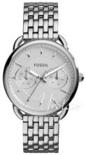 Fossil Dress Hvit/Stål Ø35 mm
