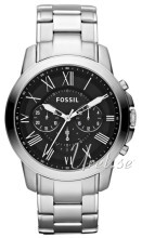 Fossil Grant Sort/Stål