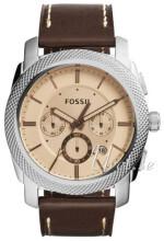 Fossil Rosegullfarget/Lær