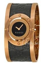 Gucci Twirl Sort/Rose-gulltonet stål