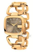 Gucci 125 MD Brun/Gulltonet stål