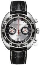 Hamilton American Classic Timeless Pan Europ Sølvfarget/Lær