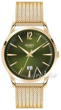 Henry London Chiswick Grønn/Gulltonet stål