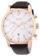 Hugo Boss Hvit/Lær