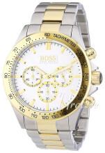Hugo Boss Hvit/Gulltonet stål