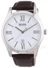 Hugo Boss Sølvfarget/Lær