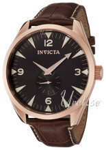 Invicta Vintage Sort/Lær