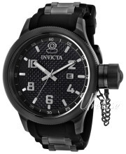 Invicta Russian Diver Sort/Stål Ø52 mm