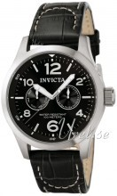 Invicta I-Force Military Sort/Lær Ø48 mm