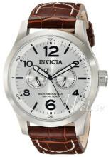 Invicta II Sølvfarget/Lær